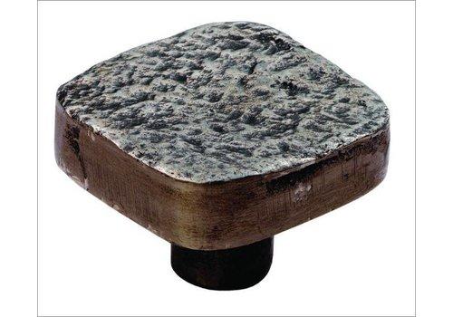 Gusseisen Möbelknauf 32mm Hammerschlag