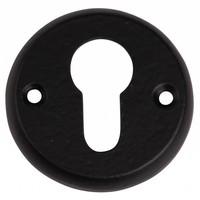 Gusseisen Schlüsselrosette PZ 55mm - schwarz