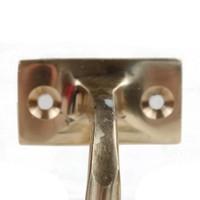Handlaufhalter 68mm - Messing poliert