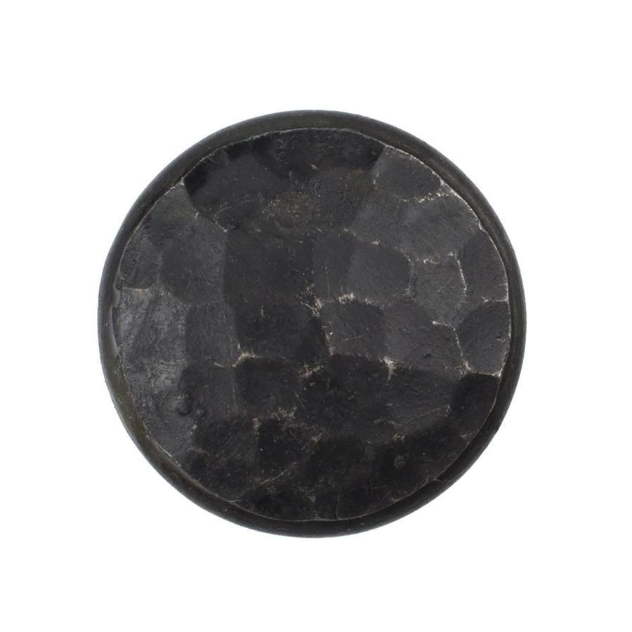 Gusseisen Möbelknopf 30mm - schwarz