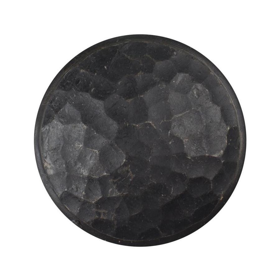 Gusseisen Möbelknopf 40mm - schwarz