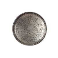 Gusseisen Möbelknopf 34mm - blank lackiert