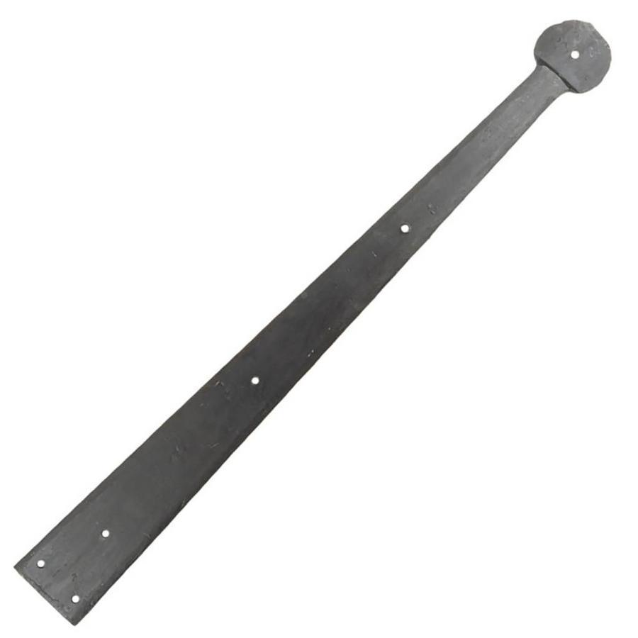 Schmiedeeisen Band rund 454mm - schwarz