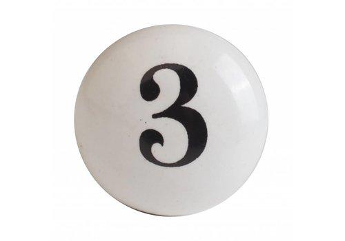 Keramik Möbelknopf Nummer 3