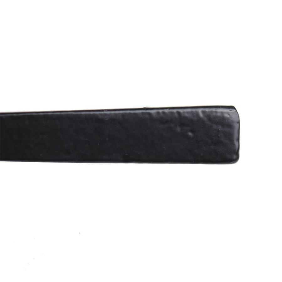 Gusseisen Türdrücker auf geradem Schild - PZ - 57mm