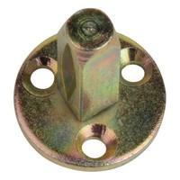 Vierkantstift auf Platte - 8mm