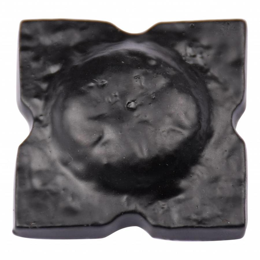 Gusseisen Türklopfer Ring - schwarz