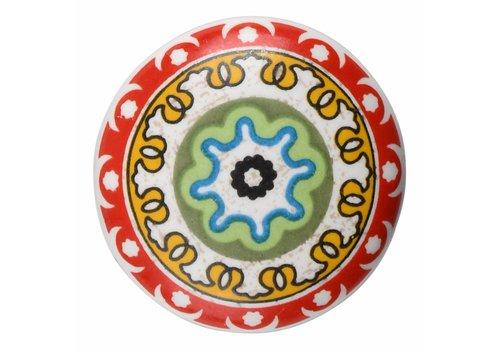 Keramik Möbelknopf Happy Industrial I