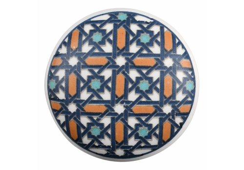 Keramik Möbelknopf Happy Industrial II