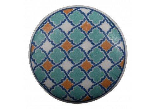 Keramik Möbelknopf Happy Industrial IV
