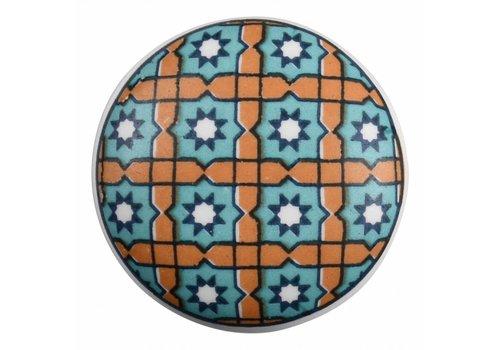 Keramik Möbelknopf Happy Industrial VI
