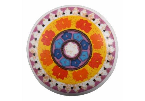 Keramik Möbelknopf Happy Industrial VII