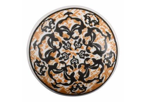 Keramik Möbelknopf Happy Industrial VIII