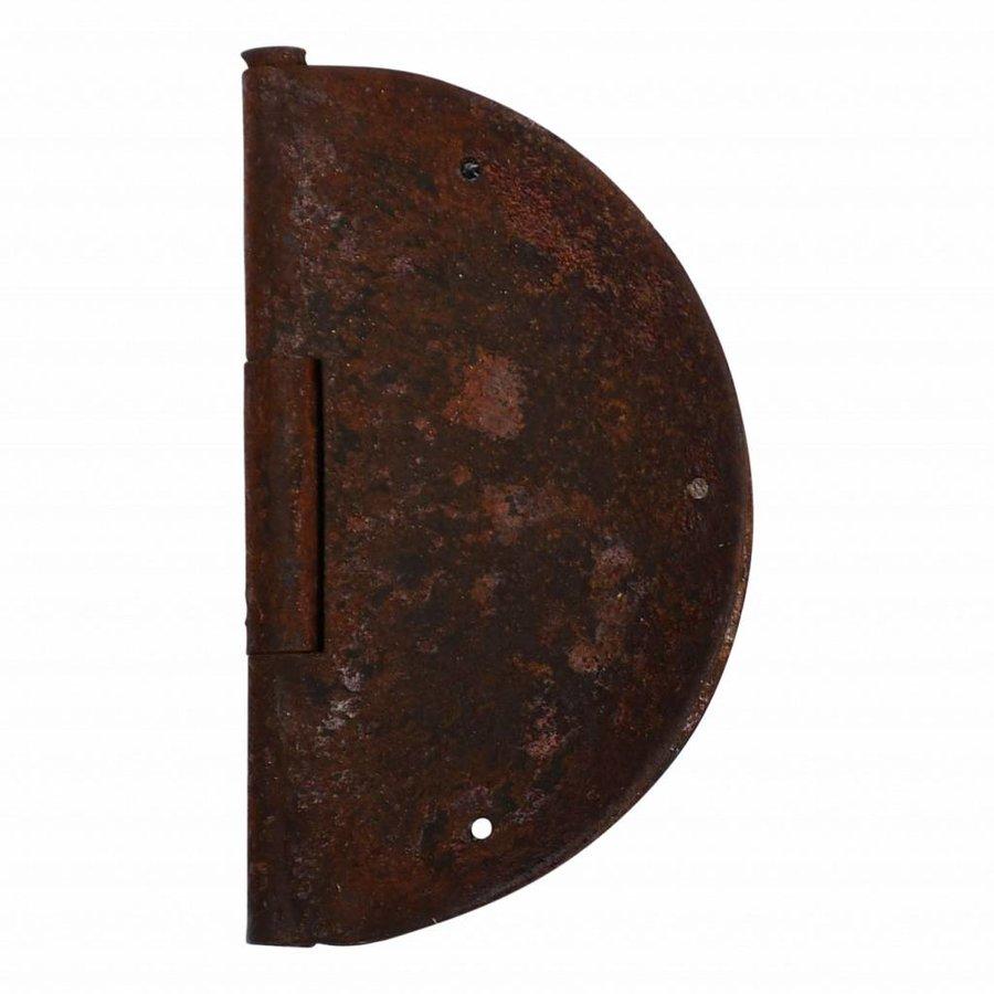 Möbelscharnier rund - Rost Ø 84mm