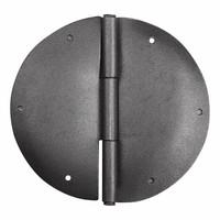 Möbelscharnier rund - blank Ø 84mm