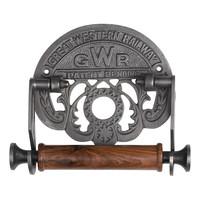 Gusseisen Toilettenpapierhalter GWR