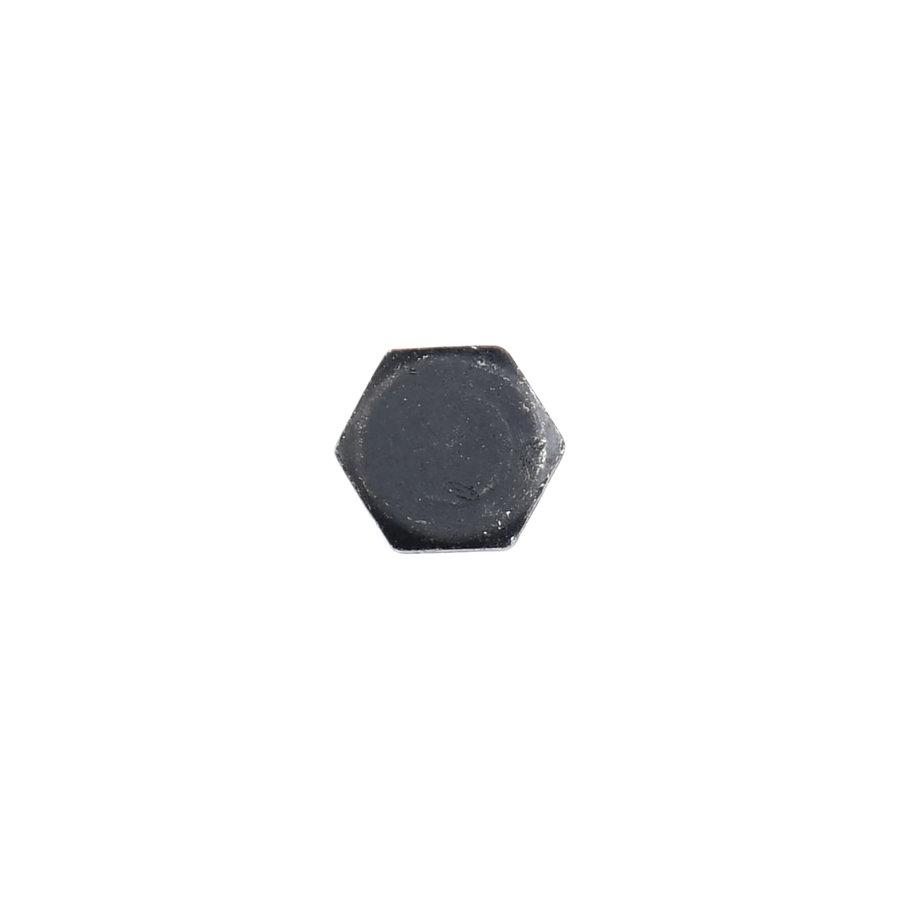 Holzschraube schwarz Sechskant - 6 x 30mm