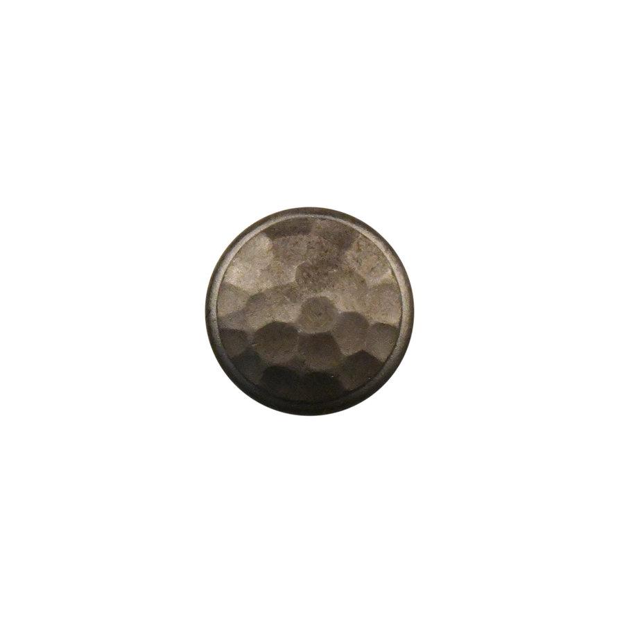 Gusseisen Möbelknopf 32mm - Hammerschlag