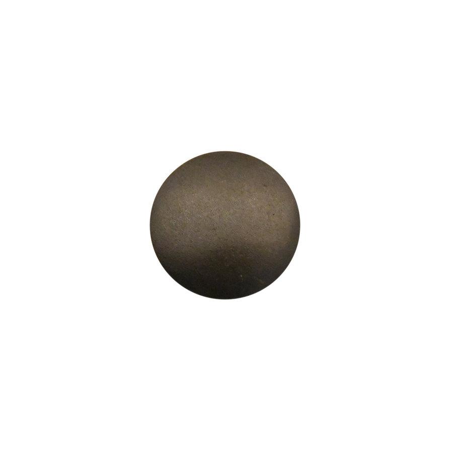 Industrial Möbelknopf rund 31mm - blank