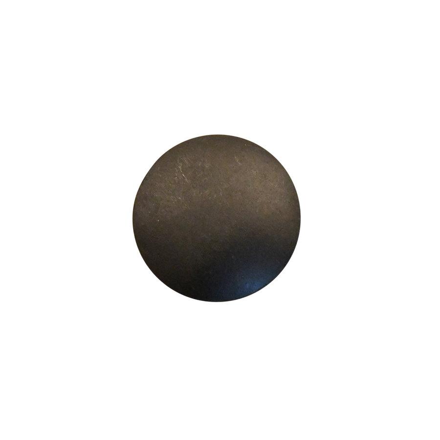 Industrial Möbelknopf rund 36mm - blank