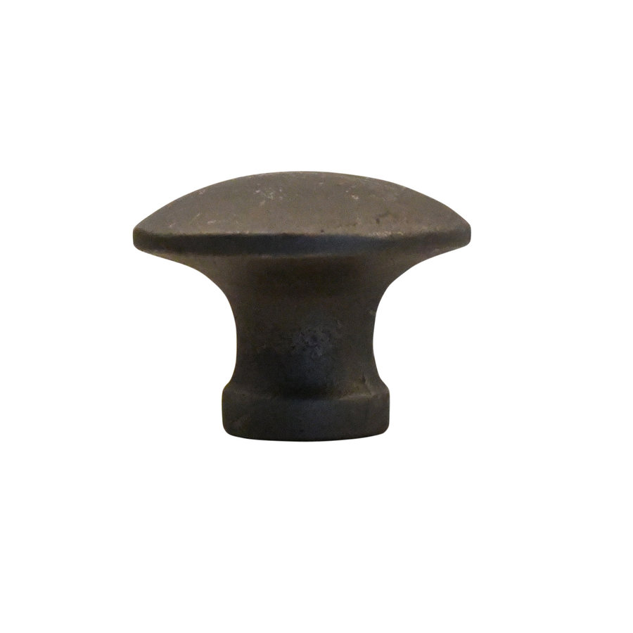 Industrial Möbelknopf rund 41mm - blank