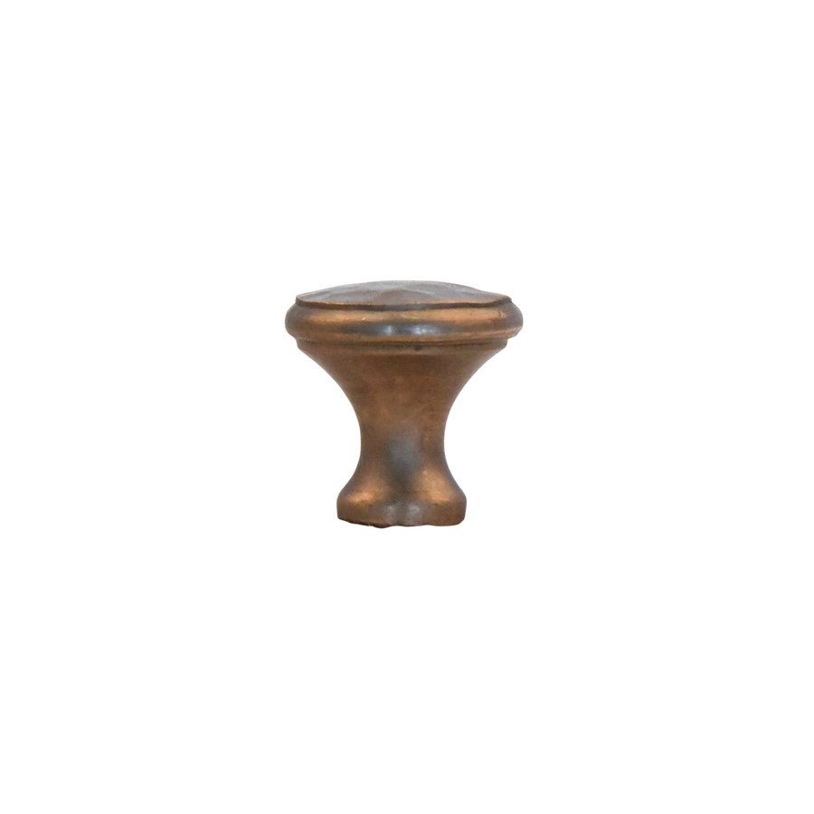 Möbelknopf 20mm - massiv Bronze