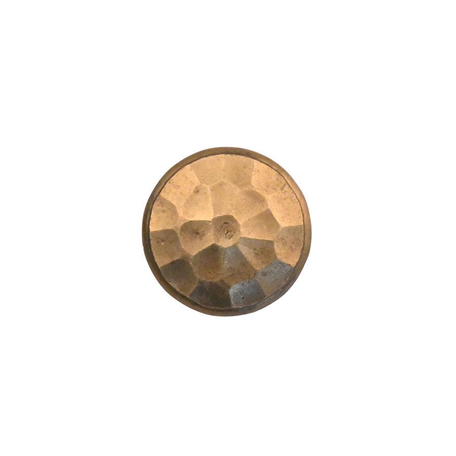 Möbelknopf 30mm - massiv Bronze