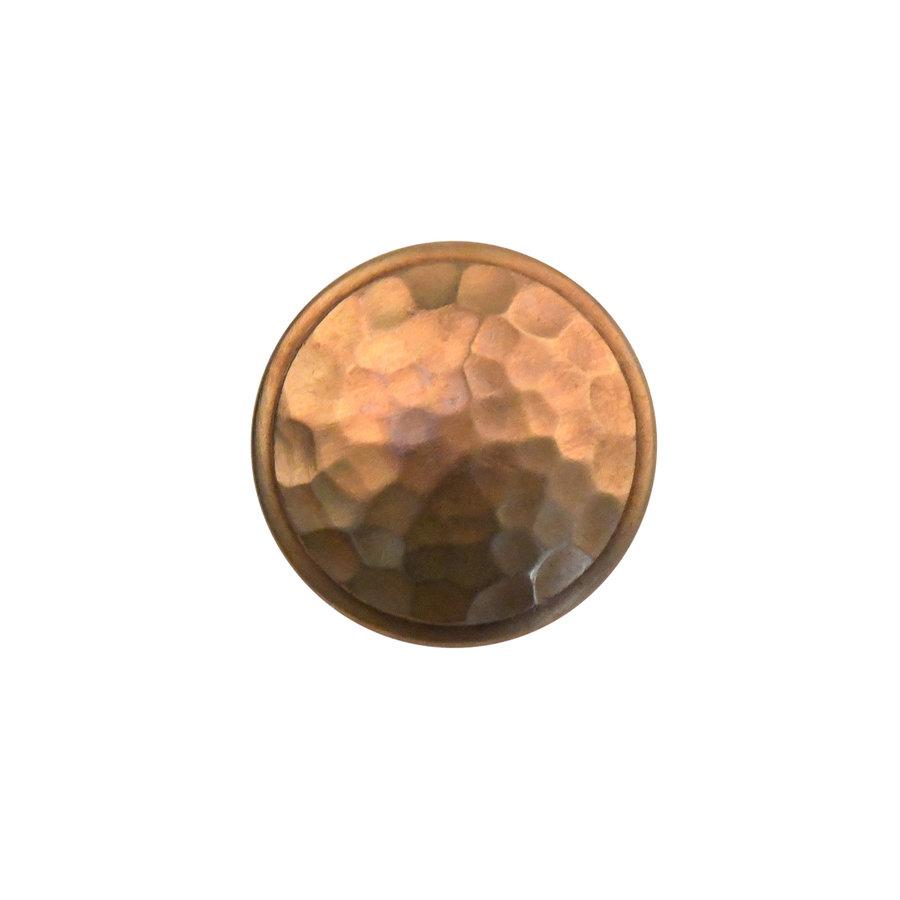 Möbelknopf 40mm - massiv Bronze