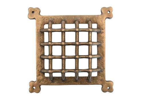 Lüftungsgitter Berum - massiv Bronze
