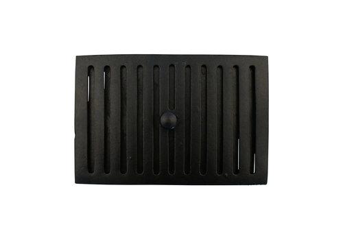 Lüftungsgitter 230 x 160mm - schwarz