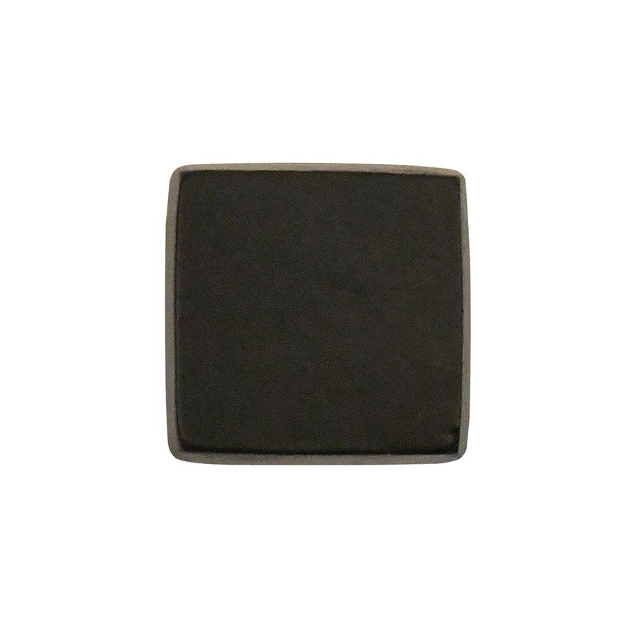 Gusseisen Möbelkauf viereckig - 31 x 31mm