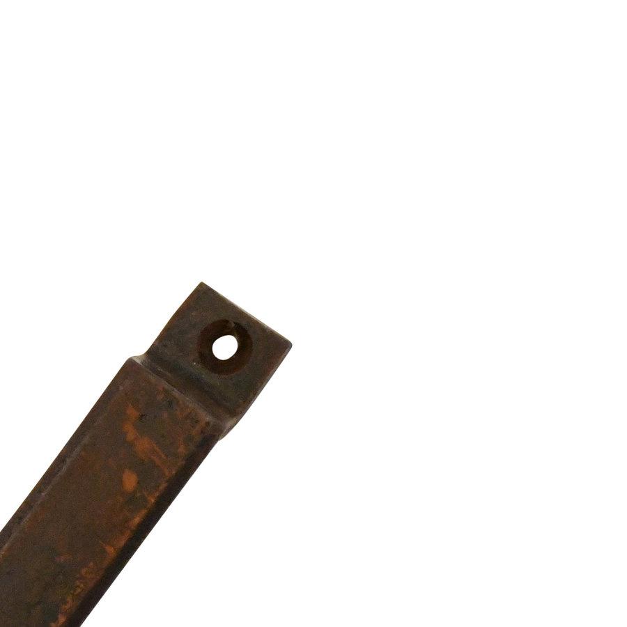 Gusseisen Möbelgriff Industrial 103mm - Rost