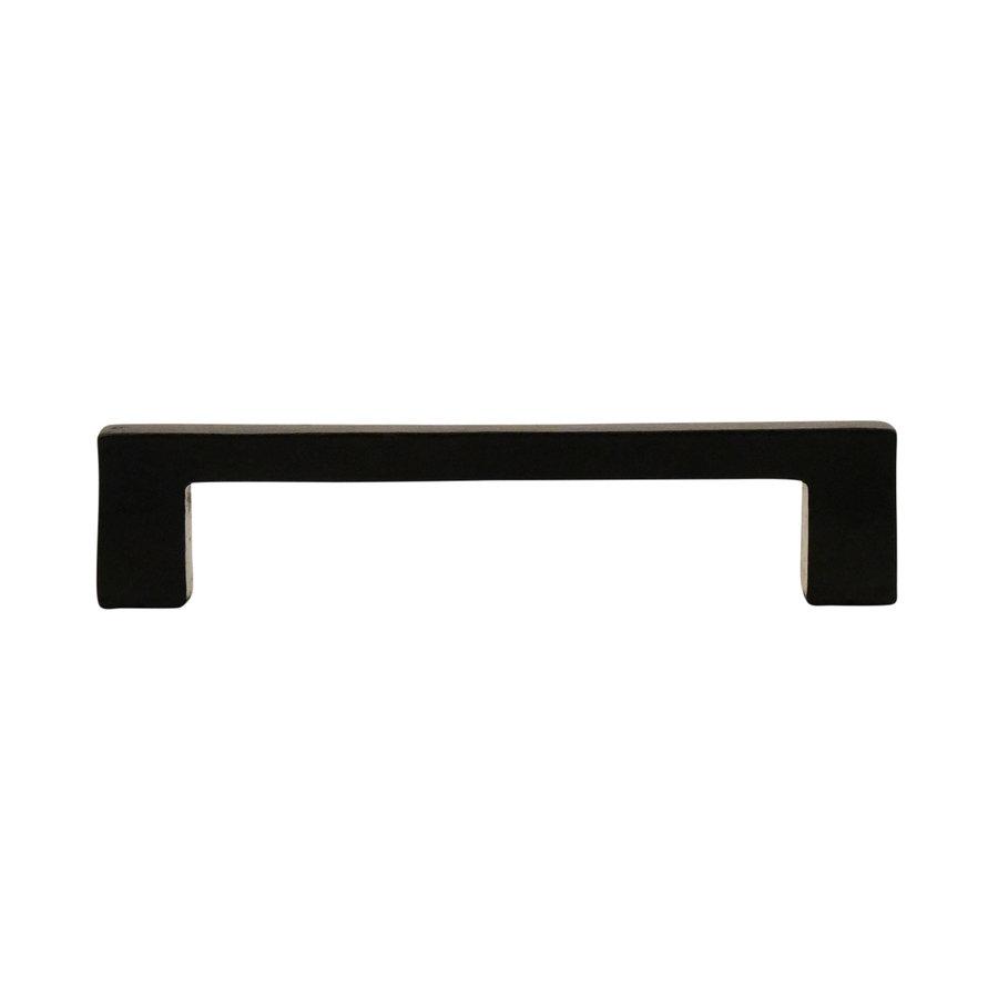 Industrial Möbelgriff eckig 116mm - schwarz