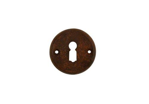 Schlüsselrosette BB 55mm - Rost