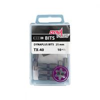 Dynaplus Bits TX-40 25mm - 10 Stück
