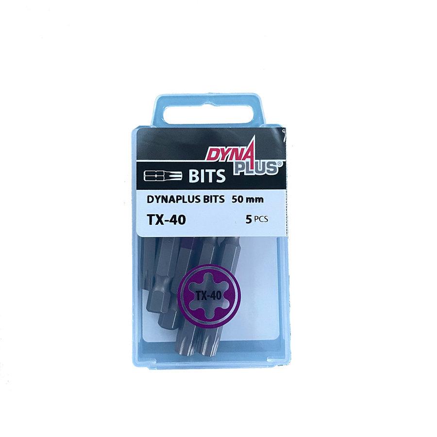 Dynaplus Bits TX-40 50mm - 5 Stück
