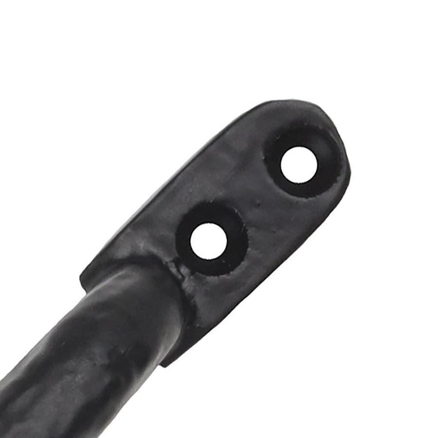 Gusseisen Möbelgriff 155mm - schwarz