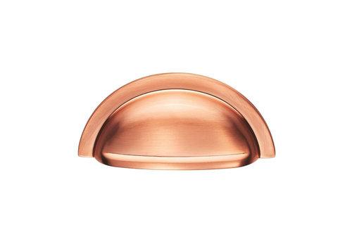 Muschelgiff aus poliertem Kupfer