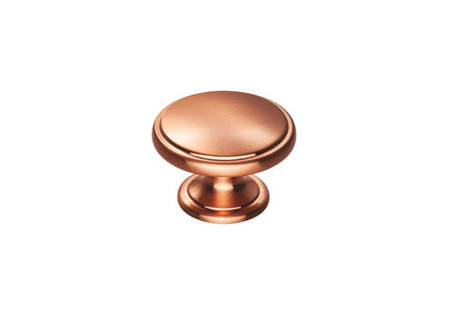 Möbelknauf - polierter Kupfer-Finish