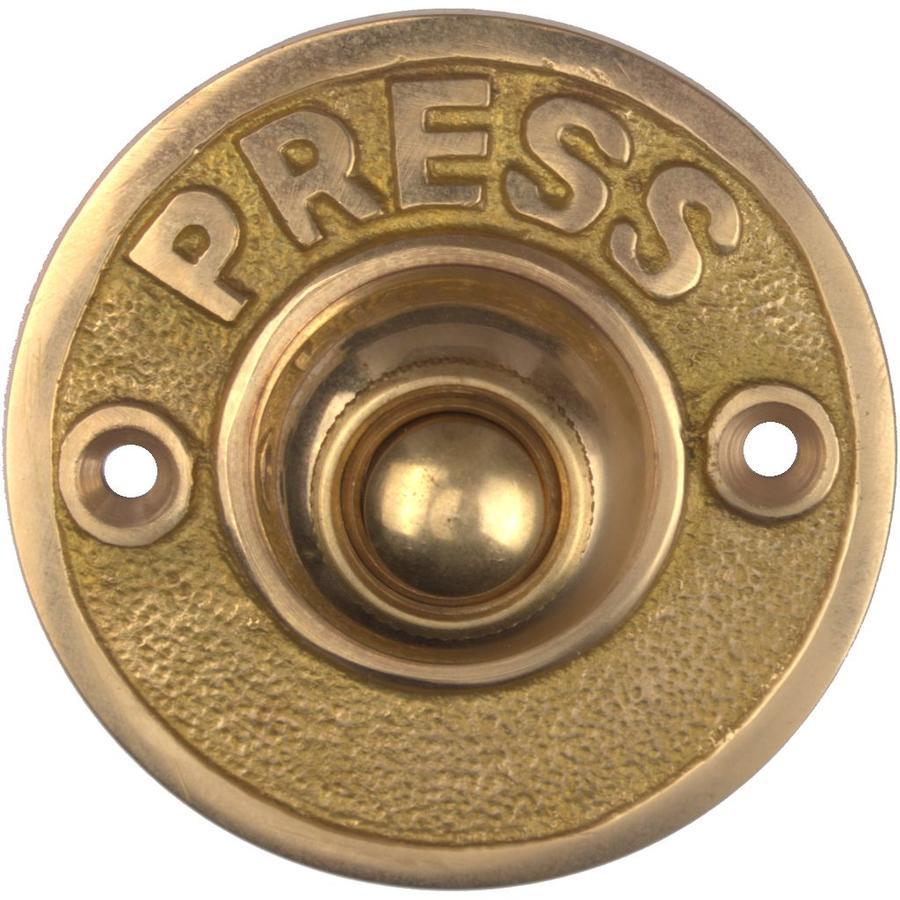 "Messing Klingeltaster ""Press"""