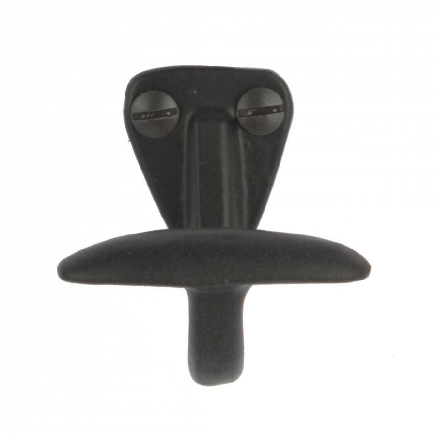 Gusseisen Kleiderhaken KH5516 - schwarz