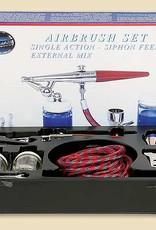 Paasche Single Action Airbrush Set