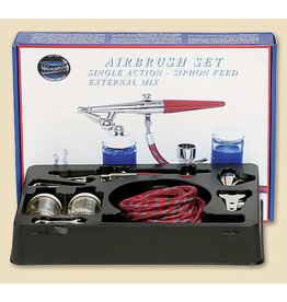 Paasche Single Action Airbrush Set