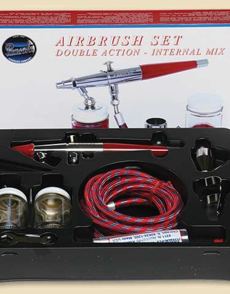 Paasche Double Action Airbrush Set