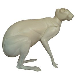 Hare Sitting Medium to Large