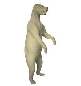 Black Bear Standing Upright Medium