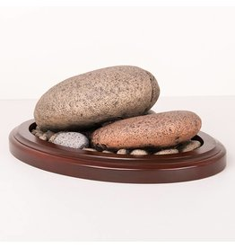 River Rock Pedestal