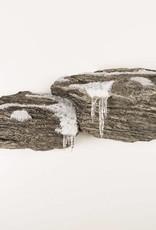 Doppel Fels Winter Thema Wandhalterung