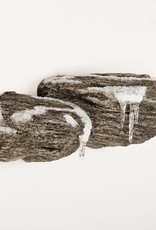 Dubbele Rots Winter Thema Muurbevestiging