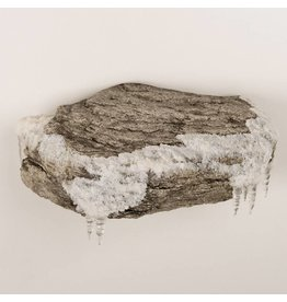 Enkele Rots Winter Thema Muurbevestiging
